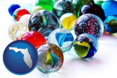 florida glass marbles