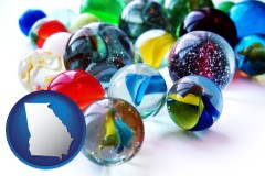 georgia glass marbles