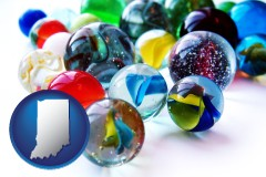 indiana glass marbles