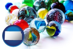 kansas glass marbles