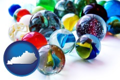 kentucky glass marbles