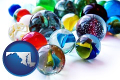 maryland glass marbles
