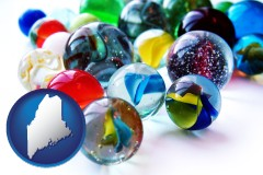 maine glass marbles