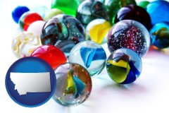 montana glass marbles