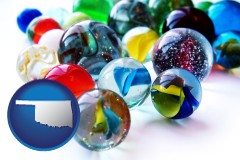 oklahoma glass marbles