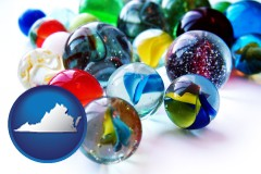 virginia glass marbles
