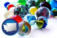 washington glass marbles